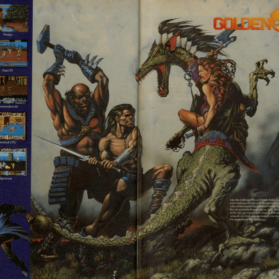 Golden Axe - Video Game From The Early 90's