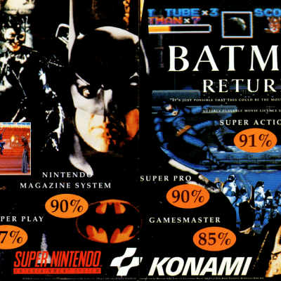 Image For Post Batman Returns - Video Game From The Early 90's