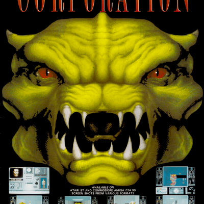 Corporation/Cyber-Cop - Video Game From The Early 90's