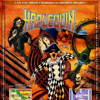 Image For Post Harlequin - Video Game From The Early 90's