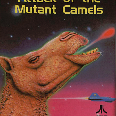 Image For Post Attack Of The Mutant Camels - Video Game From The Early 80's