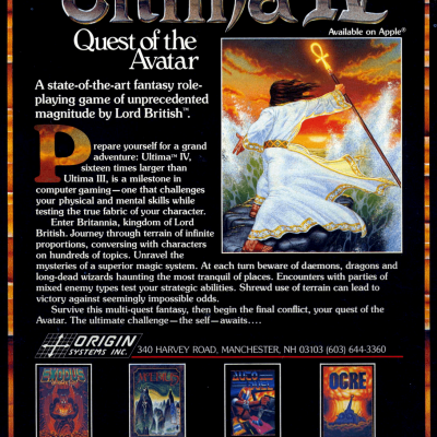 Image For Post Ultima 4: Quest of the Avatar - Video Game From the 80's