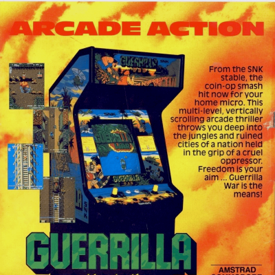 Image For Post Guerrilla War - Video Game From The Late 80's