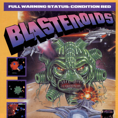Image For Post Blasteroids - Video Game From The Late 80's
