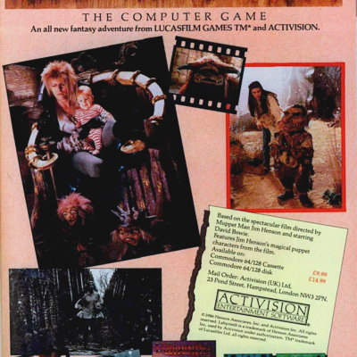 Image For Post Labyrinth - Video Game From The Mid 80's