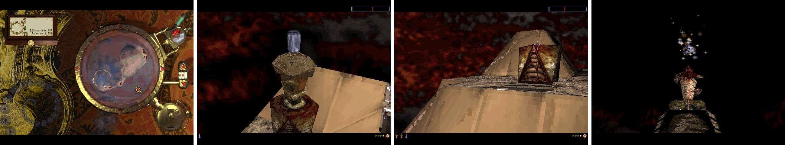"""PC screenshots  **Levels and music**   It features 651 levels, a multiplayer mode and a soundtrack (titled """"Earth/Air"""") composed by John Carpenter famous horror movie director and music composer, and arranged by Gary McKill.  **PC version**   The PC version has native support limited to a software display mode and an accelerated Glide mode, because in 1998, 3DFX cards were the de facto standard for gaming 3D graphics. However, modern computers can run the game in accelerated mode with the wrappers nGlide, dgVoodoo, OpenGlide or zeckensack's Glide wrapper, which translate Glide calls respectively into Direct3D or OpenGL calls.  **Endings**   The game has two endings. To see the first one, the player must beat the 651st level. To see the second one, the player must beat every level, or """"achieve 100% orchid"""", as this is expressed in the game."""